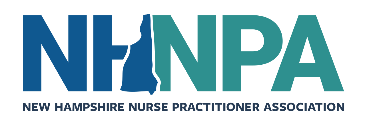 NHNPA logo blue and green on white